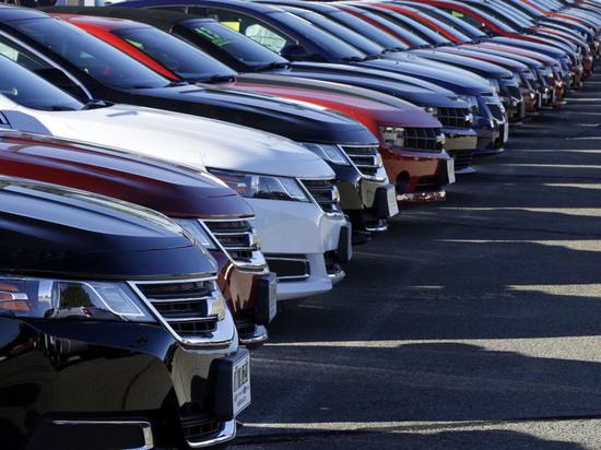 Падение спроса на автомобили