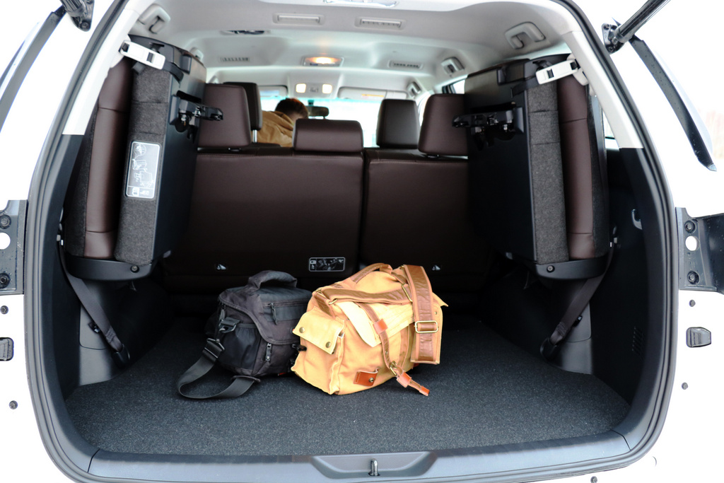 Toyota Fortuner багажник фото