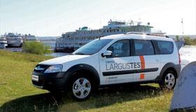 LADA Largus Cross: От Нижнего Новгорода до Макарьева и обратно