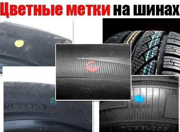 шины с разметкой фото